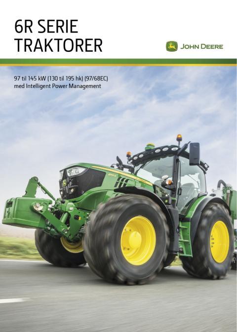 John Deere 6R-serie traktore - Brochure