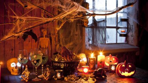 Logistik i tid för Halloween