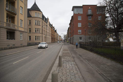 Hyresgästföreningen bjöd in Civilförsvarsförbundet till Mjällby