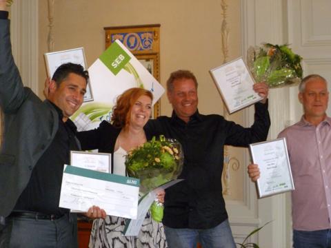Almi Värmland har delat ut Skapa-stipendier till Värmlands bästa innovatörer.