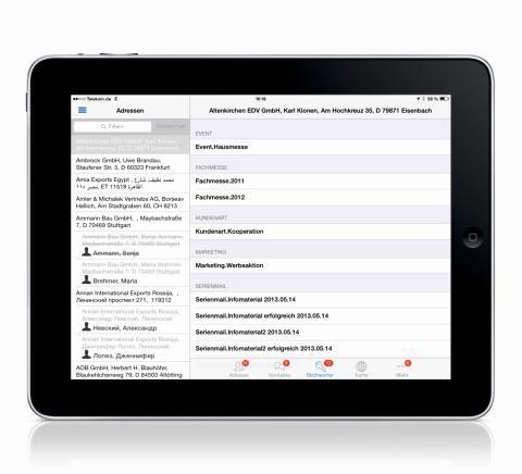 Kundenmanagement für unterwegs: Das neue cobra Mobile CRM ist ab sofort verfügbar