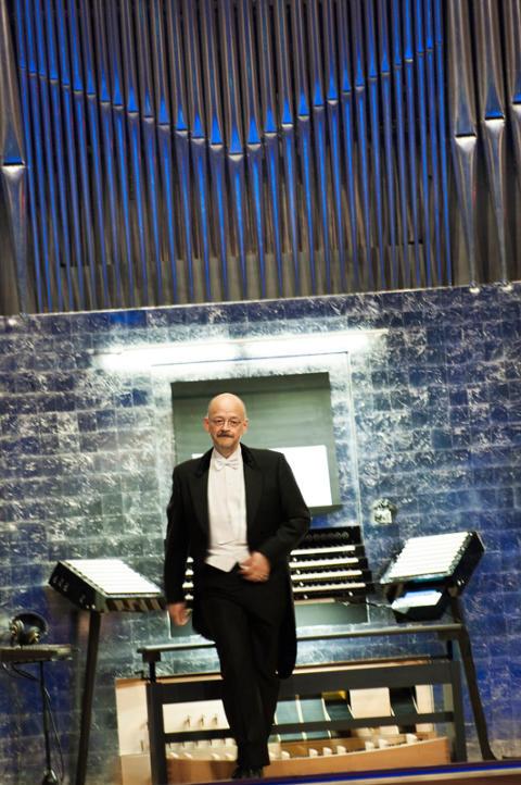Professor och organist Hans-Ola Ericsson.