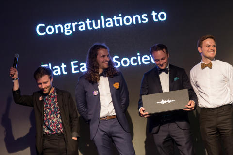 Årets Rookie Artist/Band: Flat Earth Society - Denniz Pop Awards 2017