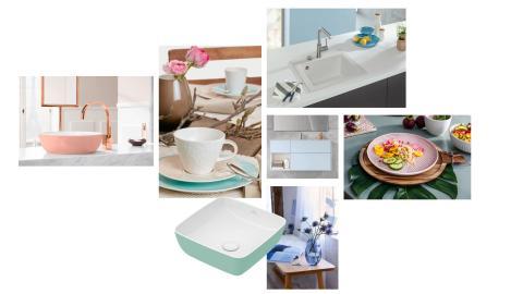 Soft temptation –  Pastel interior design by Villeroy & Boch