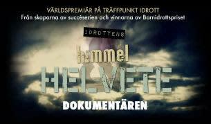 """Missa inte världspremiären av """"Idrottens himmel och helvete"""" på Träffpunkt Idrott"""