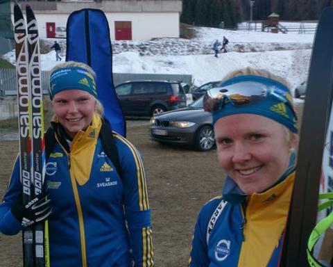 Anna Svedin-Thunström nia i skidskyttets distanslopp i Universiaden
