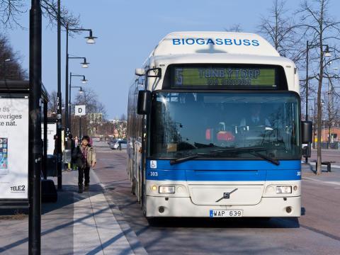 Kollektivtrafiken i Västmanland ökar säkerheten med RAKEL-utrustning från Celab