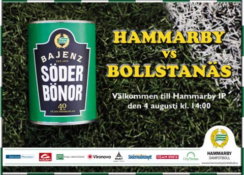 Hammarby Damfotboll-Bollstanäs