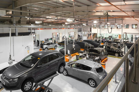 Automotive academy bays (1)