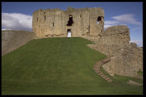 Moray Duffus castle