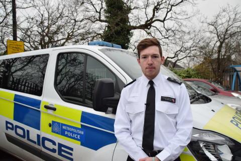 Special Constable Curtis O'Regan