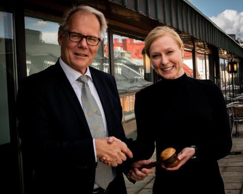 Heléne Bittmann från Advenica vald till ny ordförande i branschorganisationen för samhällssäkerhet - SACS