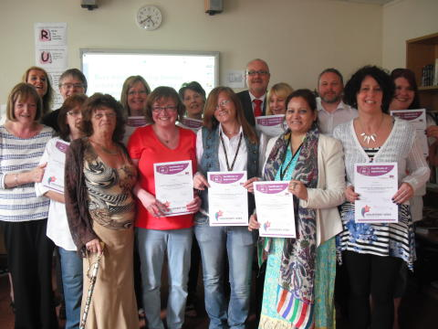 Awards for Bury's adult services volunteers