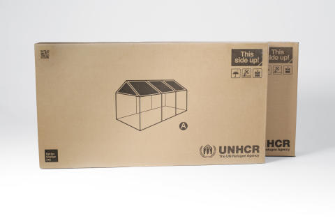 Better Shelter - flatpack boxes