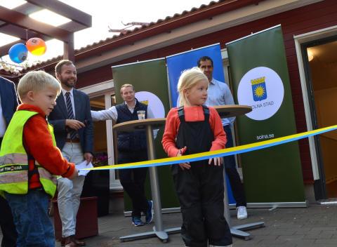 Näckrosens nya förskola är invigd
