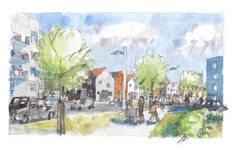 Midroc bygger 219 nya bostäder till Väsbyhem