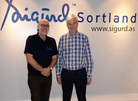 Petter Løkken (tv) og Oddvar Antonsen (th)