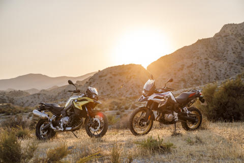 BMW Motorrad F 750 GS og BMW Motorrad F 850 GS