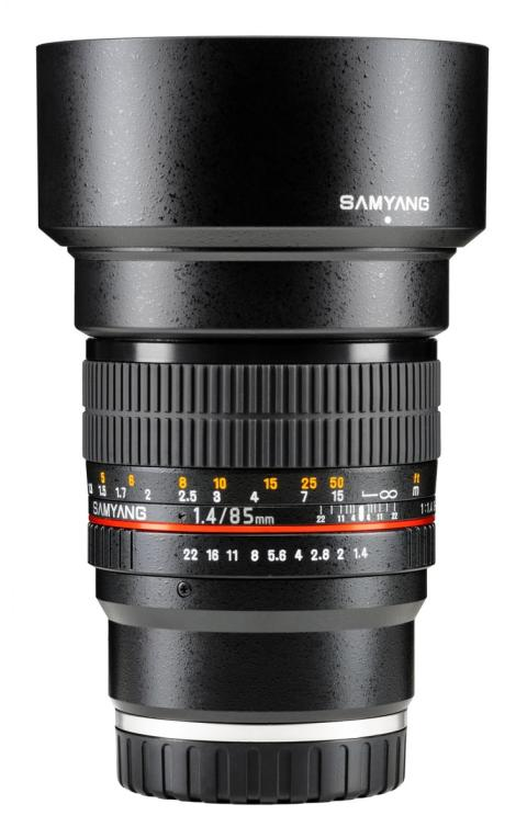 Samyang objektiv til Sony E fuldformat 85mm F/1,4