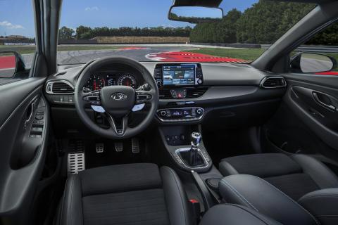 Interiør Hyundai i30 N