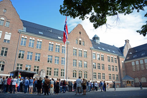 Fagerborg skole åpnet 26.8.15.