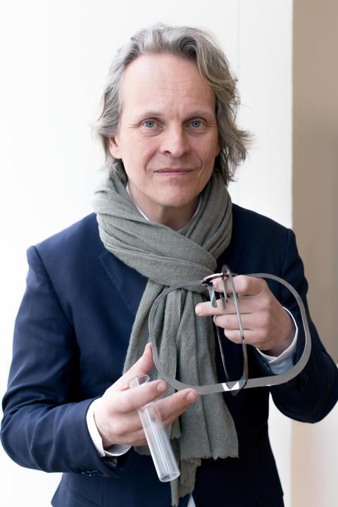 Inbjudan till pressvisning den 3 november, Ilkka Suppanen på Röhsska museet.