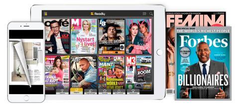 Readly är tredje snabbast växande techbolaget i Sverige