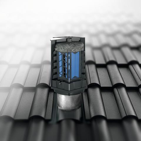 En topp energibesparende løsning til toppen av bygget