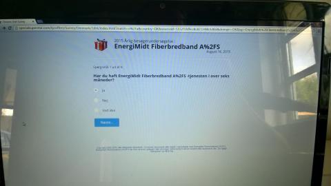 Forsøg på phishing