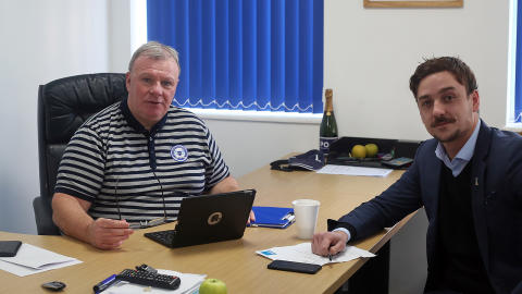 Technology company shadows key figure at League One Football Club