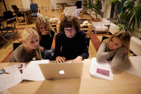 Workshops och programmering för unga