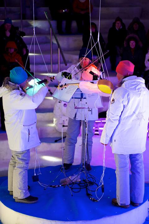 Ismusikfestival och isorkester sätter Luleå på världskartan