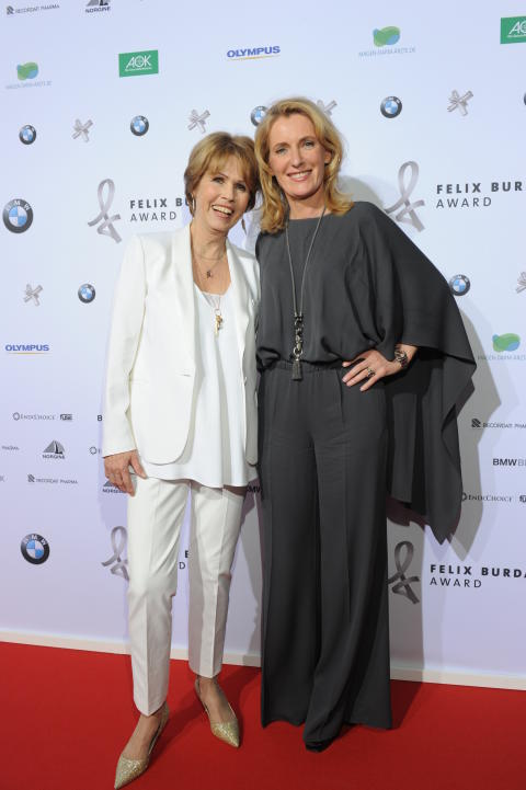 Christa Maar und Maria Furtwängler beim Felix Burda Award 2016