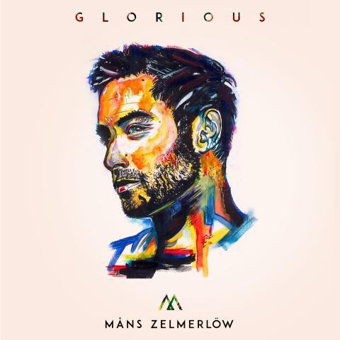 """Omslag """"Glorious"""" - Måns Zelmerlöw"""