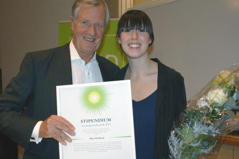 Michael Treschow och Maja Hedlund