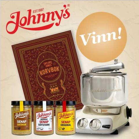 Johnny's® har en fantastisk tävling på Facebook -  ladda upp din bästa Johnny's-bild och var med och tävla!