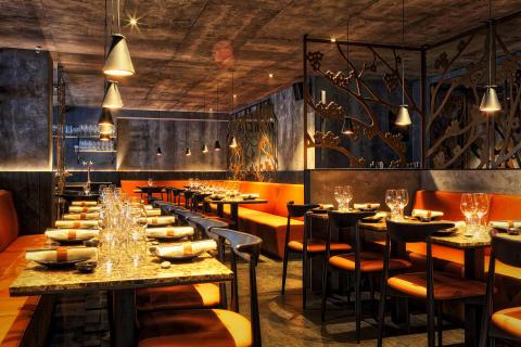 Kasai Japanese Dinnerclub, Stockholm, design by Stylt Trampoli