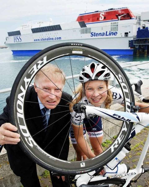 Stena Line saddles up for wheely good bike event