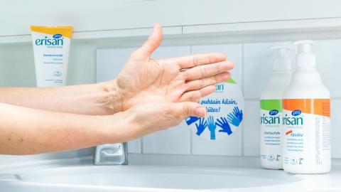 Katkaise tartuntatiet hyvällä käsihygienialla!
