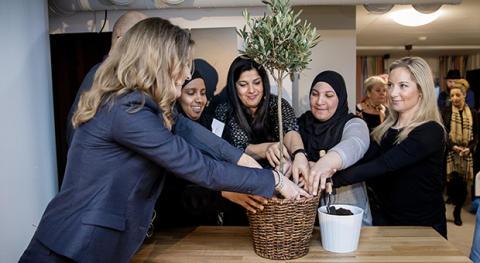 Olivträd_Catharina och mentorer