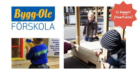 Bygg-Ole startar förskola