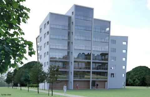 HSB bygger 127 nya bostäder i Växjö varav 51 centrala hyresrätter!