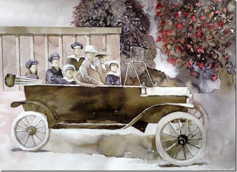 Morfars T-ford av Marina Sundberg