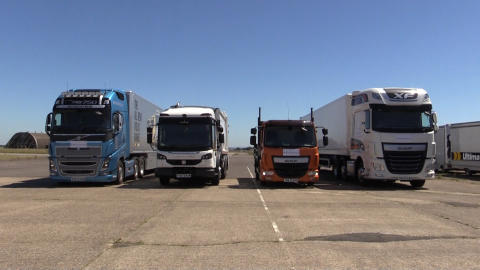 Auto-Braking: HGVs to Catch up with Cars