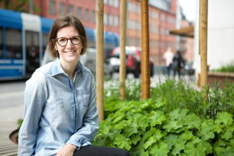 Evelina Strandfeldt, marknads- och kommunikationschef på Sweden Green Building Council