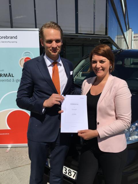 Samarbeid om elbilforsikring