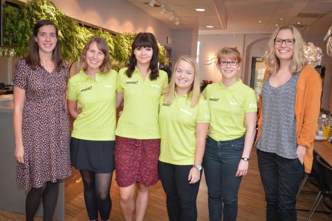 Team mätt! och Gaia vill inspirera till fler tjejer i IT-branschen