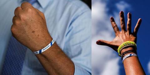 Armband mot sexuellt ofredande - PR-trick som missar målet