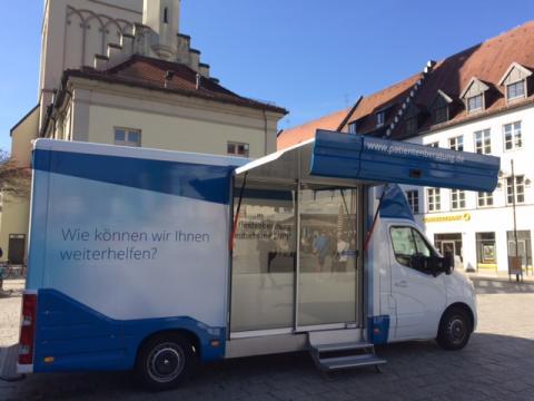 Beratungsmobil der Unabhängigen Patientenberatung kommt am 13. März nach Deggendorf.