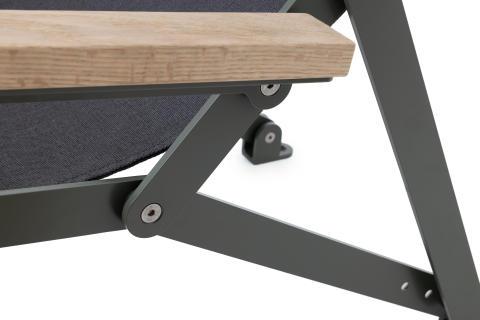Detail Loj Sun chair, design Thomas Bernstrand